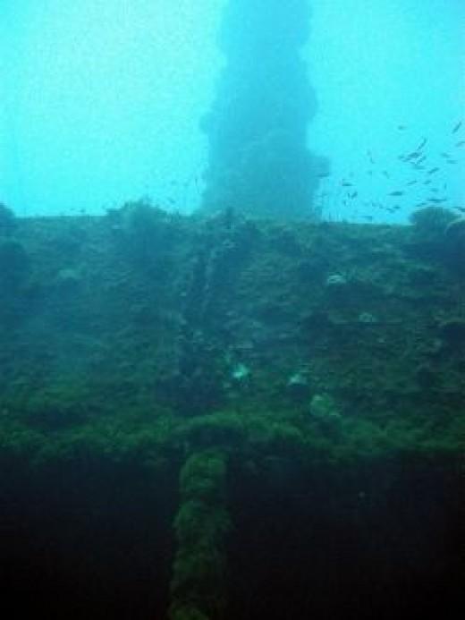 Wreck of the Unkai Maru, Chuuk, Micronesia. Credit: Matt Kieffer (Flickr/Creative Commons)