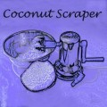 My Essential Kitchen Tool - Coconut Scraper