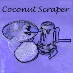 My Essential Kitchen Tool - Coconut Scraper