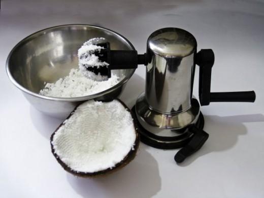Rotary Coconut Scraper
