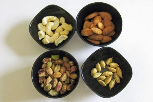 Ingredients for Shahi Tukda (2)