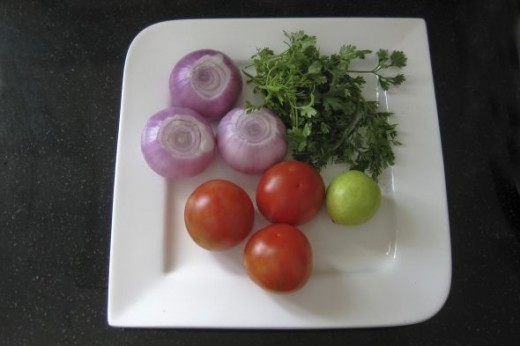 ingredients for chicken masala curry