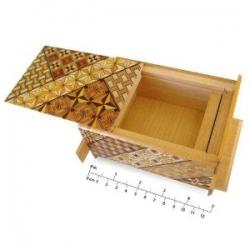Opened Japanese Puzzle Box