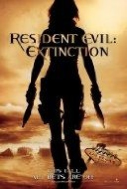 from a Resident Evil Movie Cover