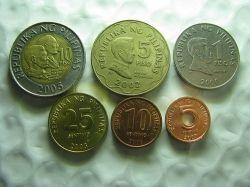 Philippine Peso Coins