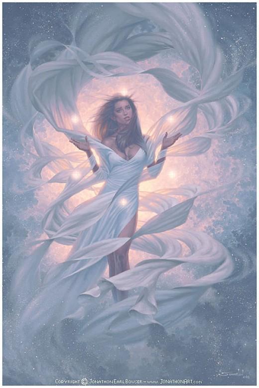 Mother God Artwork by Jonathan Earl Bowser