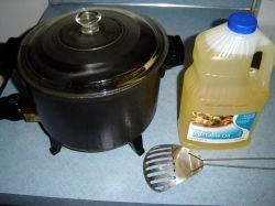 Add Oil to Presto Fryer