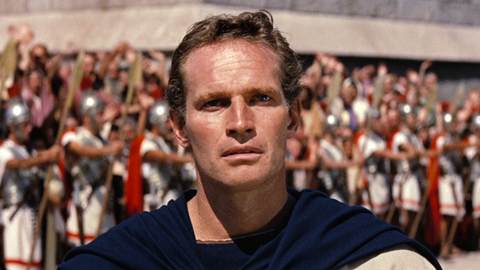 Charlton Heston, who wouldn't love that face?