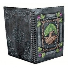Record your thoughts or spells in a Celtic Journal