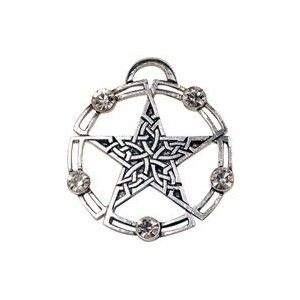This intricate Celtic Pentagram symbolises the endless intertwining of life with the circle of infinity. GBP 14.84