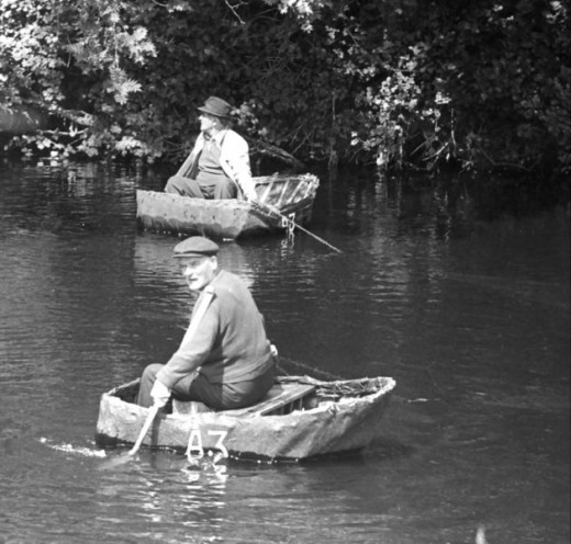Coracle Fishing in 1974