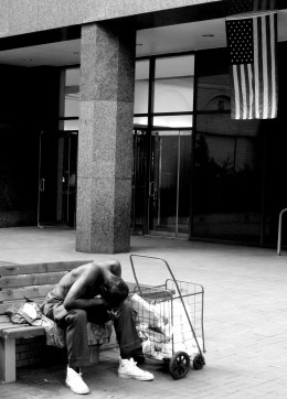 A Day In The Life Of A Homeless Man