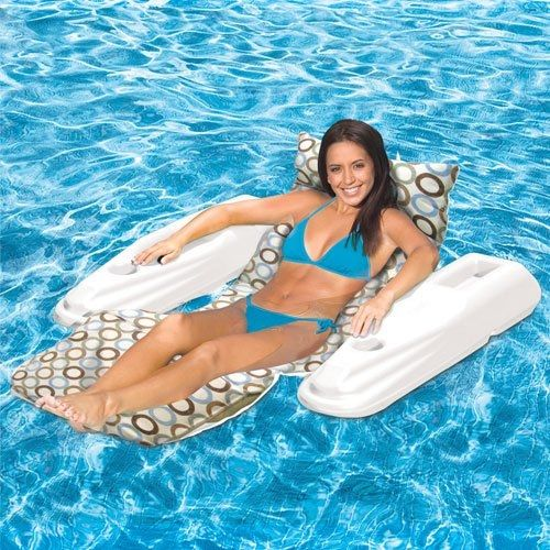 Poolmaster Adjustable Floating Chaise Lounge