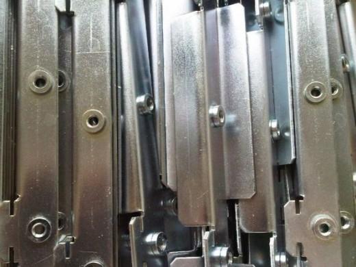 Sheet metal zinc plated brackets