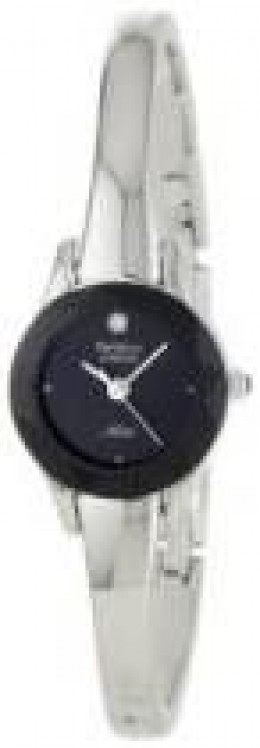 Armitron Women's 752433BLK NOW Diamond Accented Bangle Dress Watch