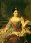 1727 Catherine I Empress of Russia, 1725-27
