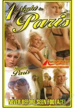 Paris Hilton on the cover of One Night In Paris