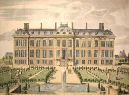 Montagu House, Bloomsbury, the first home of the British Museum