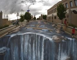 Edgar Mueller waterfall parking lot