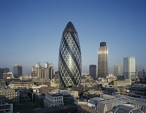 Gherkin Building, London UK