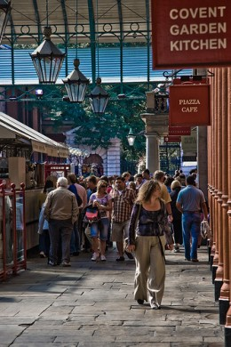 Covent Garden market, copyright Garry Knight