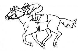race horse coloring pages - horse racing coloring pages free coloring pages