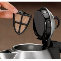 clean electric water kettle