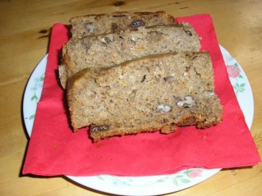 Healthy Whole Wheat Pumpkin Cake