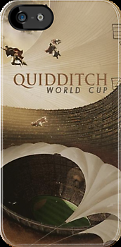 Quidditch World Cup iPhone Case