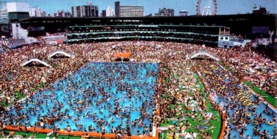 A Water Park in Tokyo - Yikes!!