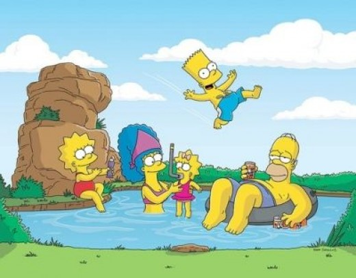 A Simpsons Vacation