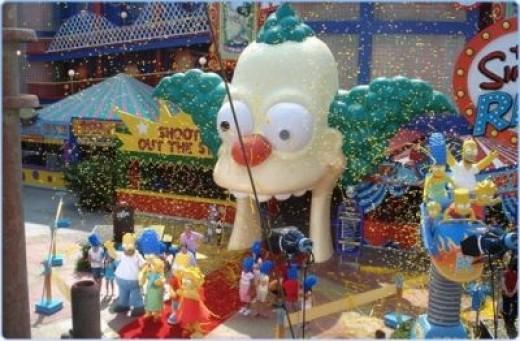 Simpsons Ride at Universal Orlando
