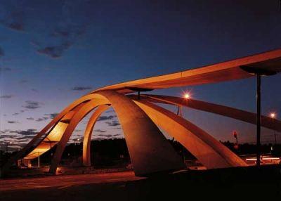 """Golden Horn"""" bridge built on October 31, 2001 in Oslo, Norway"""