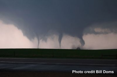 Multiple Funnel Clouds