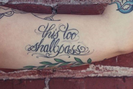 This Too Shall Pass Tattoos