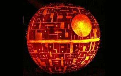 The Death Star Pumpkin