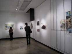 contemporary art exhibit: Steve Roden and John O'Brien at Cerritos College Art Gallery