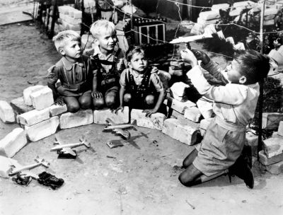 "Children Playing ""Airlift"""