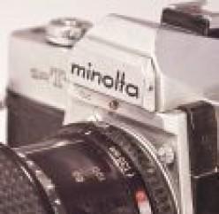 Minolta SRT Manual Film Cameras: Learn Photography with a Minolta SRT