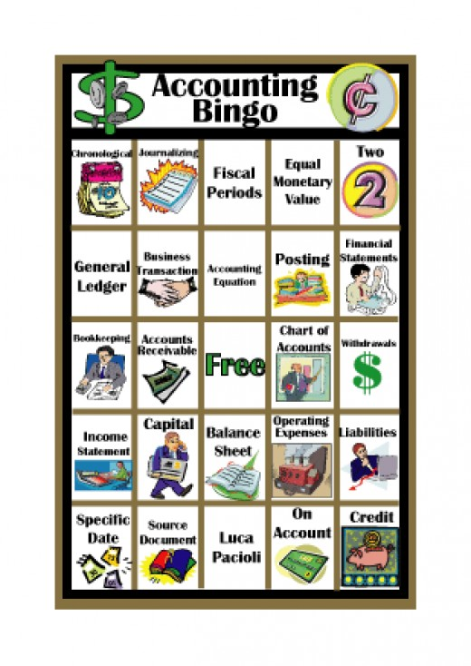 Accounting Bingo