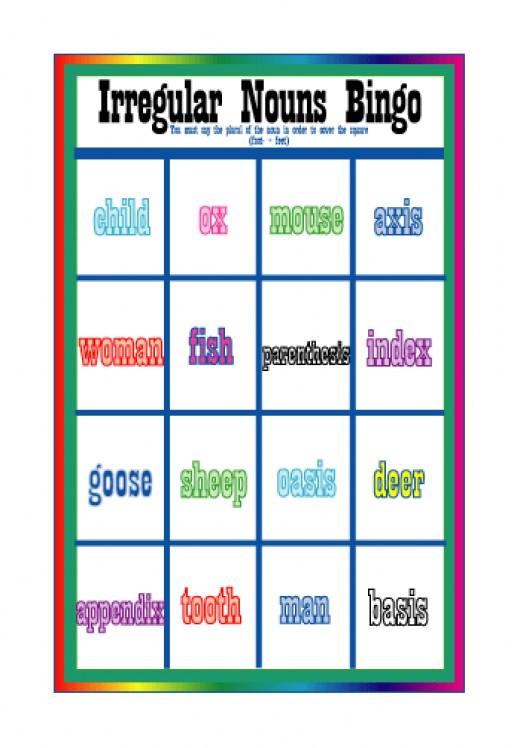 Mixed Metaphor Bingo