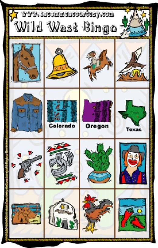 Wild West Bingo
