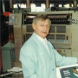 Dad at a Printing show possibly 1990s?