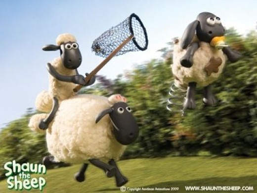 Shaun the Sheep Chases Down Timmy