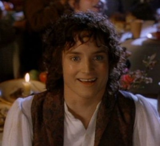 Frodo Baggins at the Party
