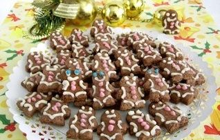 Cute Christmas cookies is because winter holidays wouldn't be the same without our little gingerbread man friends