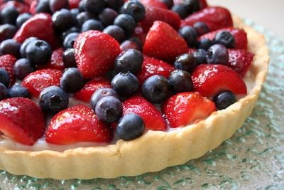 Vegetarian fruit tart