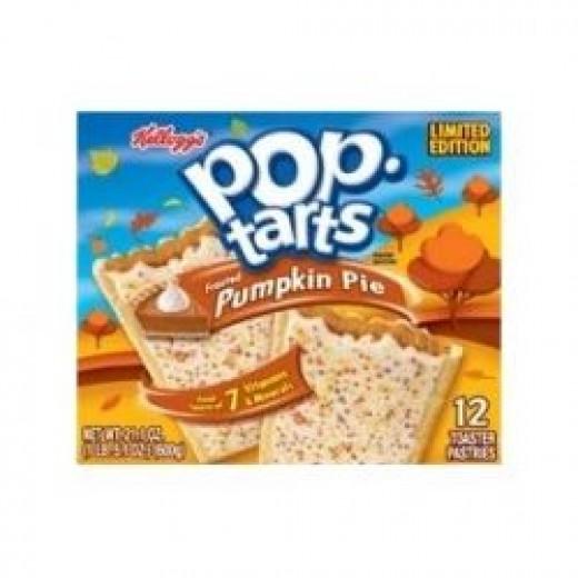Kellogg's pop tart limited edition pumpkin pie