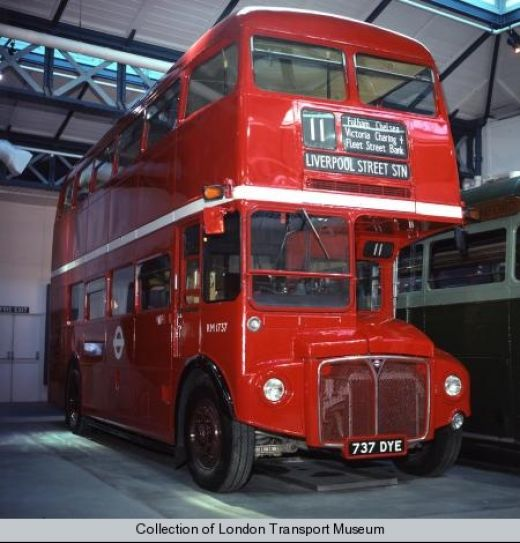 London Routemaster double decker bus