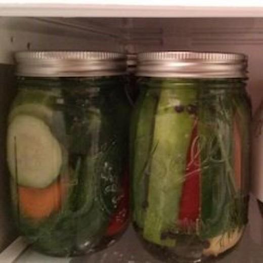 Icebox Pickles